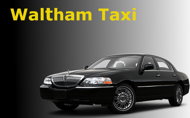 Taxi in Waltham